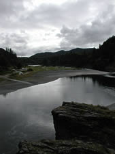 Rogue River from Lobster Creek Bridge
