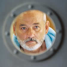 Bill Murray as Steve Zissou