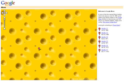 Google Cheese...y Humor