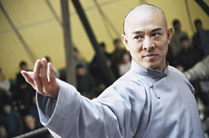 Jet Li as Huo Yuan Jia in Fearless
