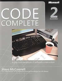 Code Complete by Steve McConnell (2nd Edition)