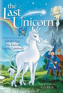 The Last Unicorn old DVD - don't buy