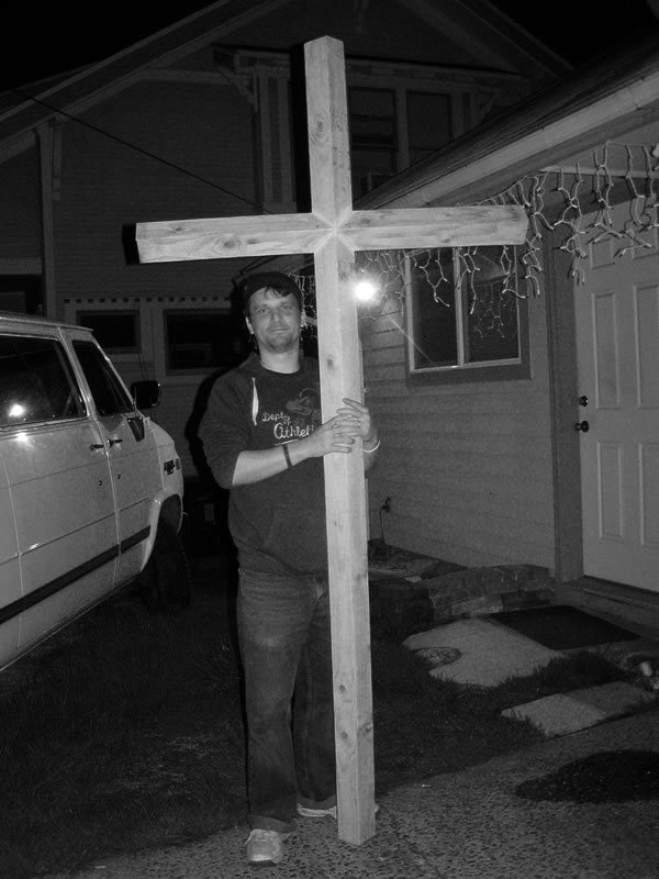 Dad's and my cross